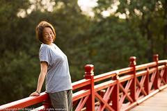 Bobo on Huc bridge (Pexpix) Tags: bridge contrejour hanoi nikkoraf85mmf14d nikondf outdoor vietnam hni