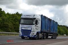 DAF XF 106 'P.A. Dunwell Transport Ltd' reg FX14 CZM (erfmike51) Tags: lorry artic dafxf euro6 padunwelltransportltd