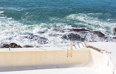 On the water at Bondi icebergs (Justine Gordon) Tags: bondibeach bondiicebergs