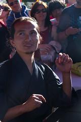 Caligrafia Japonesa. Master Mohri Suzuki (miza monteiro) Tags: lisboa lisbon caligrafia parquedasnacoes festadojapao festadojapao2016 mohrisuzuki