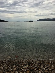 View of Dubrovnik from Cavtat (breakbeat) Tags: cavat croatia travel tourist beach harbour water sea adriatic