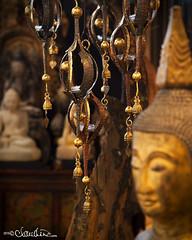 (by claudine) Tags: statue bells thailand market bangkok buddha culture nightmarket thai chimes customs asiatique travelphotographyworldphotosuniquebyclaudine