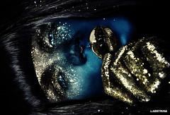 Galaxy (abstrusa) Tags: beauty glitter stars photography gold avatar makeup galaxy stardust
