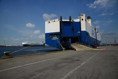 Honor (DST_1831) (larry_antwerp) Tags: 9126297 honor arc roro pctc antwerp antwerpen       port        belgium belgi          schip ship vessel        euroports