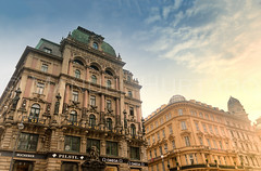 Krntner Strae (ManuelHurtado) Tags: countries places ancient architecture austria austrian building capital city cityscape europe european facade historic historical history landmark street tourism travel urban vienna wien at