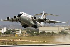 KAF342 (markpaulbrockdorff) Tags: mla lmml globemasteriii c17a boeing force air kuwait kaf342 kaf