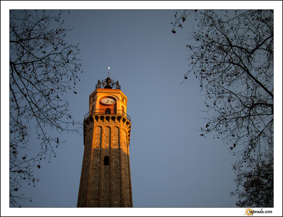 Clock Tower in Town square
