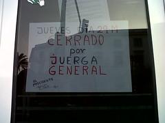 Comercio solidario con huelga 29M (CCOOAndalucia) Tags: rajoy pp ugt sindicatos recortes huelgageneral reformalaboral 29marzo 29m ccooandalucia ugtandalucia