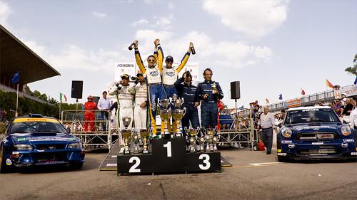 Il podio del 26° Rally Proserpina 2011