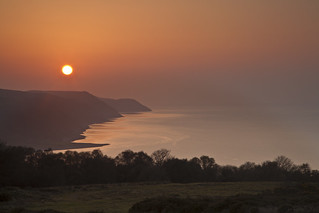 Porlock Bay at Dusk