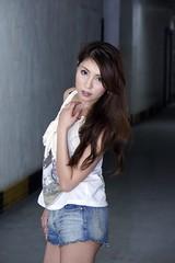 _DSC8783 (rickytanghkg) Tags: portrait woman lady female model pretty sony chinese young corridor picnik a550