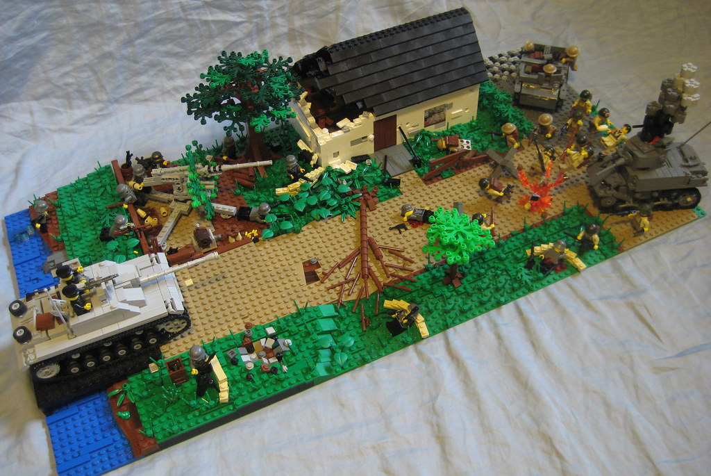 The world 39 s best photos of flak and ii flickr hive mind for Siege lego france
