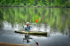 """""""He Doesn't Have Both Oars in the Water"""" (Steve Lindenman) Tags: kayak lindenman colonelbeatty cpmg0412sa"""