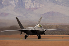 Awaiting Departure (ashergrey) Tags: show fighter air airshow raptor stealth f22 usaf unitedstatesairforce superiority thunderoverutah