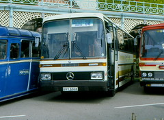 MERCEDES JOHNKERE DVV550X (WESTROWMAN) Tags: mercedes coach brighton rally brightoncoachrally joncheere