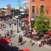 Enjoying a pint and taking in the view of Byward Market: a perfect long weekend afternoon
