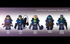 """First Recon Squadron """"Phoenix VII"""" (felt_tip_felon®) Tags: lego space spacemarines minifigs unit squadtroops"""