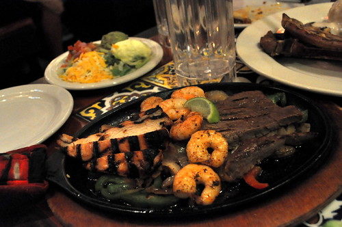 Fajita Trio @ Chili's Grill and Bar