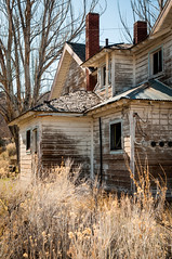 seen better days (Sam Scholes) Tags: old light shadow house building abandoned home digital dark utah nikon mine industrial apartments apartment decay mining coal hiawatha d300 kingcoal kingmine usfco unitedstatesfuelcompany