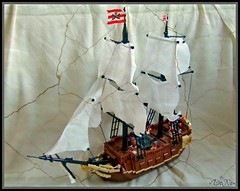 Lego Imperial Armada Vessel (=DoNe=) Tags: by viktor ship lego pirates vessel armada caribbean done warship englands