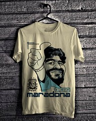 Maradona - Light Cream (everydayshirt) Tags: indonesia tshirt gift kaos distro everydayshirt