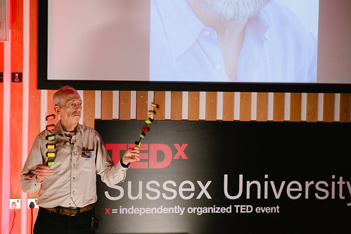 Richard Robinson speaking at TEDxSussexUniversity 2012