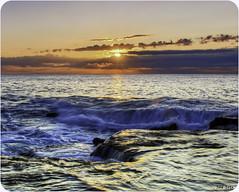 Un Nuevo Dia. (Legi.) Tags: sea sun seascape sol sunrise landscape mar cabo paisaje amanecer mediterrneo cervera