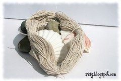 Dyed cotton twine - step 2