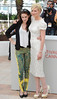 Kristen Stewart and Kirsten Dunst 'On the Road' photocall during the 65th Cannes Film Festival Cannes, France