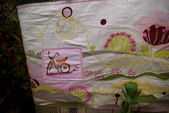 bike swirl purse
