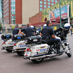 BEALE ST. BEAT AGAIN (Frontispiece) Tags: blues police dot guns squad motorbikes cuffs patrol weapons bealestreet holster mpd downtownmemphis silkyosullivans unitedstatesamerica cityofmemphis policeuniforms motorcycleunit westerntennessee memphispoliceofficers tennesseerobertsontopp leatherbikeboots