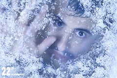 Freeze (22/52) (LEVARWEST) Tags: cold ice autoportrait freeze froid glace glac congel 52weeksproject projet52 levarwest