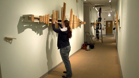 Taking down the Hallway (Photo Credit: Kathi Beste)