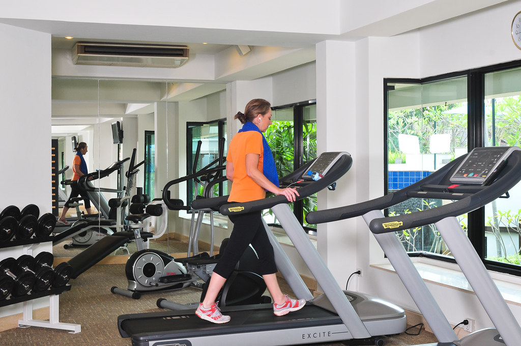 Gym by Tara Angkor Hotel, on Flickr