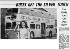 Page 3 girl (Wood's Library) Tags: page3girl northerncounties guyarab daimlerfleetline teessidemunicipaltransport bxg525k royalsilverwedding1972 corawatson