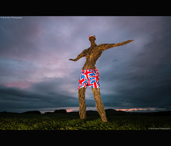 The Big Man In Jubilee Shorts (.Brian Kerr Photography.) Tags: sunrise scotland jubilee getty gettyimages dumfries galloway springfling wickerman kirkcudbright