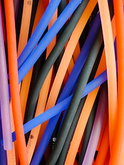 Rubber tubes (blaahhi) Tags: abstract colors finland tubes rubber vantaa flexible heureka rubbertubes panasoniclumixgh2 leicadgsummilux25mmf14asph