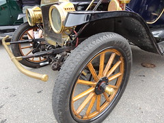 1912 Ford Model T Touring Car (Custom_Cab) Tags: canada detail ford car wheel t wooden model spoke front canadian bumper fender end 1912 brass touring