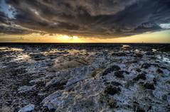 Chalk view (J.W.Turner) Tags: ocean sunset sea sky cloud beach water canon gold coast chalk kent sand tokina shore 1224 westgate thanet 500d