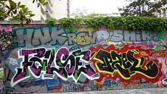 False Rael (lepublicnme) Tags: streetart paris france june graffiti pal curve tomek rael false 2012 kuma cecster palcrew
