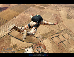 Sky Diving The Best hobby ( [ Libya Photographer ]) Tags: sky diving hobby best the