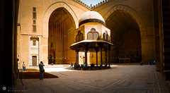 (M.Atef90) Tags: old arch cairo hassan islamic    mousque      soultan