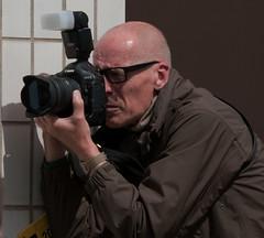 the photojournalist (Clive Jones Photography) Tags: people streetphotography photojournalism photographers cannon oxfordshire oxforduk photographersatwork nikond300 theoxfordmail