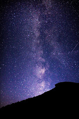 Old Man Milky Way Memorial (Robert Clifford) Tags: night stars nightscape newhampshire whitemountains clear franconianotch oldmanofthemountain milkyway whitemountainnationalforest regionwide legacyfund robertallanclifford cliffordphotographynhcom