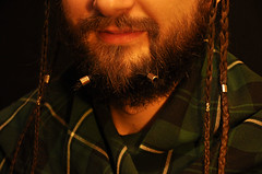 Dwarven Haircuts (Schatz_the_Rabbit) Tags: haircut man male smiling metal hair beard fan long bart inspired scottish moustaches bead nordic celtic hobbit dwarven tartan braid sakal sa rg modeli flm     cce     erit   byk
