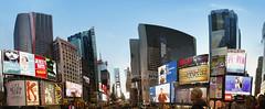 #280 Times Square Panoramic (rrcd55) Tags: nyc usa newyork canon freedom flag 24105 freedomtower canon5dii randolphdaas ramondaas