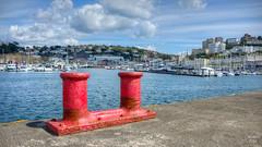 quayside   torquay (John FotoHouse) Tags: red color colour seaside flickr fuji harbour devon torquay 169 johndolan quayside 2016 dolan leedsflickrgroup johnfotohouse copyrightjdolan fujifilmx100s
