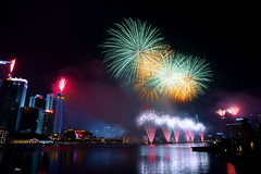 #TBT: Celebrating 50 year old Singapore - National Day (iSam's) Tags: birthday old city marina happy bay singapore day year firework national 50 thursday celebrate throwback tbt 2016 2015 isam