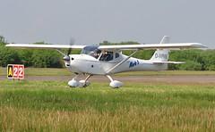 Visiting Aircraft From Germany (11) (goweravig) Tags: uk swansea wales germany aircraft funk visiting bf fk9 swanseaairport dmpmk