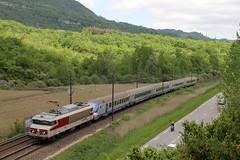 CC-6570 pour Chambry (Maxime Espinoza) Tags: train grand paca cc le sncf ter corail 6500 6570 virieu apcc6570